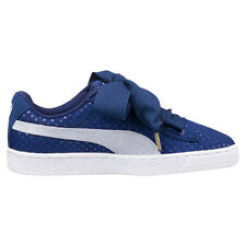 Puma Basket Heart Denim Twilight Blue Cara Delevingne Scarpe Shoes Chaussures 40