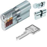 50//65 Abus EC660 Profilzylinder Schließzylinder Knaufzylinder viele Schlüssel