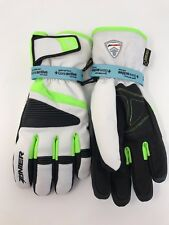 Zanier Jerzens.GTX Winter Gloves Gore-tex  White Black Green Mens M/8.5