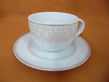 Seltmann Marina  Kaffeetasse mit Untertasse Frühstückstasse Goldrand Neu