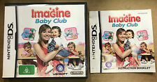 Imagine: Baby Club CASE & MANUAL ONLY (Nintendo DS, 2007)