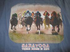 "SARATOGA HORSERACING ""WHERE HORSE IS KING"" (LG) T-Shirt"