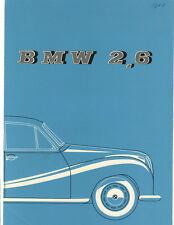 BMW   Folder  2.6 V8 Sedan  1958