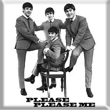 Beatles Please Please Me (band in suits)1963 fridge magnet  75mm x 75mm   (ro)