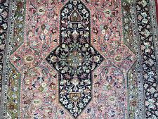 "Elegant  Persian Pure silk Koum oriental rug (  5ft.11"" x 3ft.4""  )"