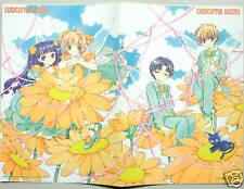 CLAMP CARD CAPTOR SAKURA Notebook official anime