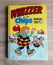 Whizzer And Chips Annual 1982 Vintage U.K Comic Hardback