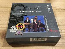 Schubert Complete String Quartets LEIPZIGER STREICHQUARTETT MDG GOLD 9 CD MINT