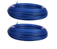 2 x Universal jardin Bordure Coupe-bordures Fil débroussailleuse Câble recharge