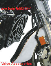Kawasaki VN 900 Radiator Cover (Arrow Design) #02-2861