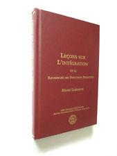 LECONS SUR L'INTEGRATION et la recherche de Fonctions Primitives Henri LEBESGUE