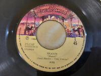 "Kiss – Shandi - 7"" Vinyl LP 45rpm Peru 1980 Casablanca – F5-CAP 60000436"