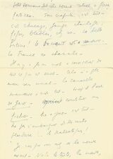 Louis-Ferdinand CELINE  Lettre autographe signée à son ami Charles DESHAYES