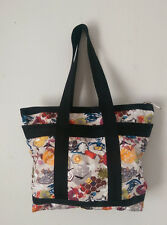 2008* Lesportsac* Dash* print medium travel tote/shopper* plus makeup bag* EUC*