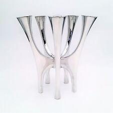 David Andersen 5 Candelabra by Bjørn Sigurd Ostern - Modernist Sterling Silver
