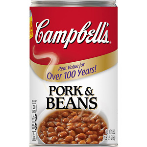 Campbell's Canned Pork and Beans, 19.75 Ounces  Pack of 12