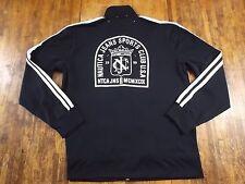 Nautica Jeans Co. Full Zip  Embroidered Logo Jacket DARK NAVY BLUE Size XL