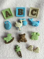 Crema chalecos de bebé niña niño recién nacido Nacimiento-Nuevo Novedad Vestido para arriba Craft Botones