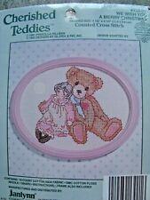 Janlynn Cherished Teddies - We Wish You A Merry Christmas Cross Stitch Kit