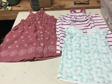 Toddler Girls Baby Gap Cotton Sundress Button Front &  two tops Size 3
