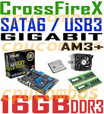 COMBO AMD FX-8350 CPU+16GBDDR3 RAM+ASUS M5A97 LE R2.0 CFX SATA6 USB3 Motherboard
