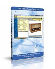 GS Radio-Verwaltung - Software zur Verwaltung Ihrer Radiosammlung