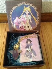 Sailor Moon x Q-pot 2016 Hotaru Amulet Pate de Fruit necklace EMS Japan