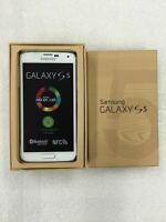 New AT&T Samsung Galaxy S 5 G900A Smartphone Shimmery White 16GB 4G LTE