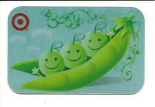 Target Gift Card No $ Value Collectible Peas in a Pod 2009 #1534 Glossy