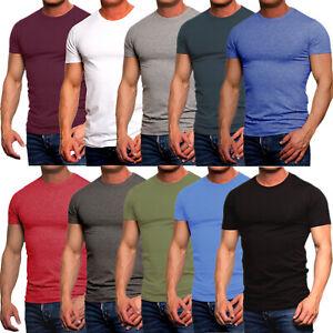 Herren T Shirt Jack and Jones Basic Tee Shirts Rundhals Kurz V-Ausschnitt Slim