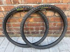 WTB Velociraptor Tyres 26 X 44/50 Retro Vintage MTB PAIR BLACK