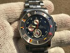 CORUM WATCH ADMIRALS CUP 44 TIDES 977.630.20 DIVER AUTOMATIC MENS  EXELLENT