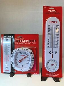 TIMEX Thermometer & Humidity Gauge TX1024 & TX1007 Sealed New