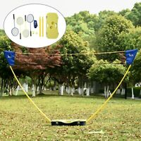 HOMCOM Foldable Badminton Net for Kids Adults Indoor and Outdoor