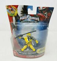 Power Rangers Ninja Steel Yellow Ranger Action Hero Toy Figure Bandai