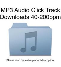 MP3 Audio Click Track Downloads (Dr. Beat DB​-​90 Metronome Click Sound)