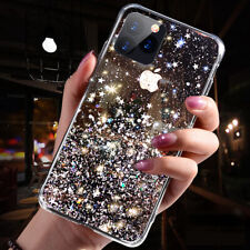 Bling Glitter Case For iPhone 6 7 8 Plus XR XS 11 MAX Clear Gel Soft Phone Cover