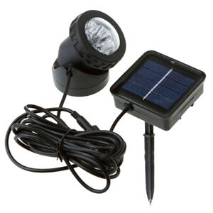 1pc Solar Lamp Garden Light Projector Lamp Underwater Lamp for Garden Yard Park
