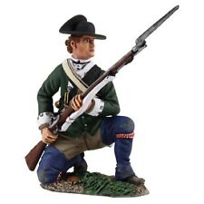 W Britain Collectible Soldiers 16029 Loyalist Butlers Ranger Kneeling At Ready
