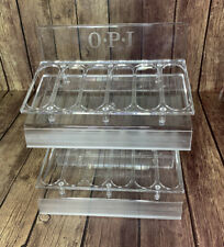 OPI Nail Polish Color Display Clear Rack Hold 36 Bottles Empty