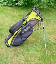 Ping E2 Stand Golf Bag Black / Lime Green 4 Way Divider Top
