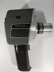 Vintage Keystone Horizin Series 8mm Film Video Camera.