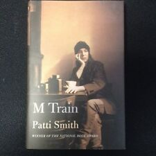 SIGNED PATTI SMITH  M Train by Patti Smith 2015 HARDCOVER 1ST/1ST