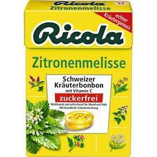 Ricola Zitronenmelisse ohne Zucker 20x50 g Bx.