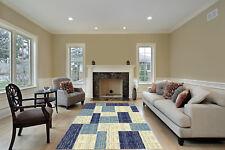 Discount World 5x7 CC3003 Modern Contemporary Decorative Floor Rug Brown Lines