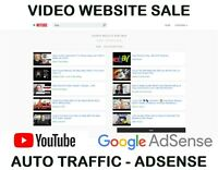 VIDEO SEARCH ENGINE WEBSITE FOR SALE*INSTANT DOWNLOAD*TRAFFIC ADSENSE