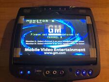 ~New GM GMC Invision DVD Headrest Monitor B Factory OEM 620007 Passenger Side