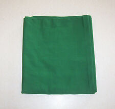 Green Cotton Blend Fabric Sewing Quilting Christmas