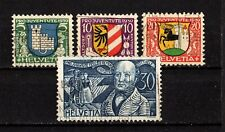 SWITZERLAND  #B53-56   USED   (1602023)