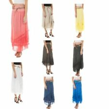 Cotton Vintage Plus Size Skirts for Women
